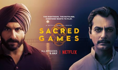 Netflix's show poster of Sacred Games