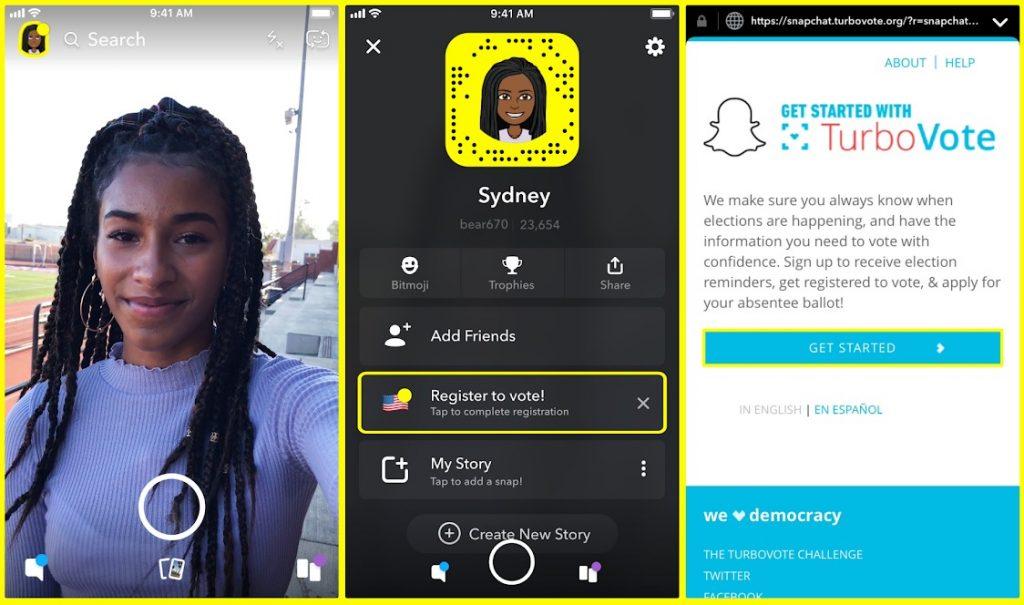 Snapchat screen shot