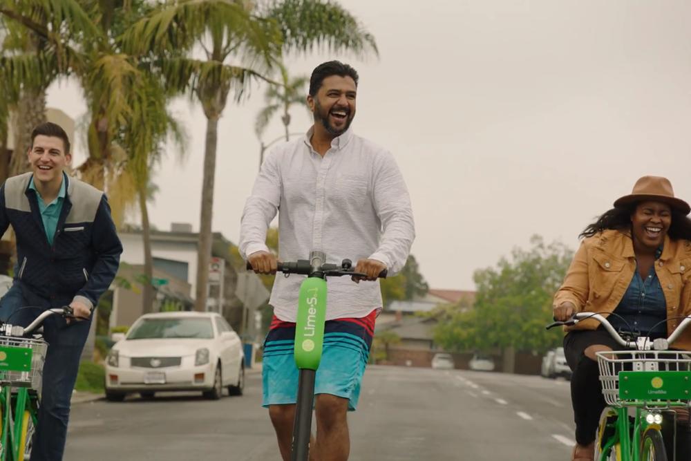 Lime bike video capture