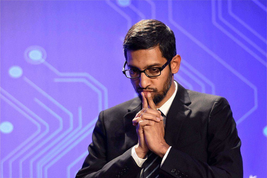 Sundar Pichai Google CEO pic