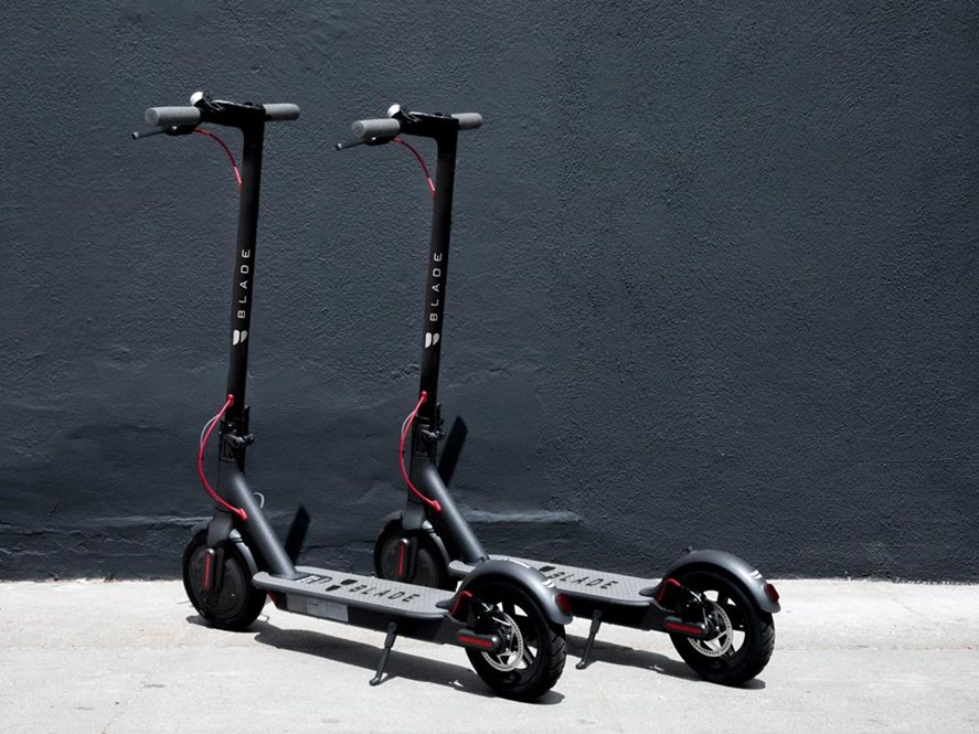 Electric scooter image