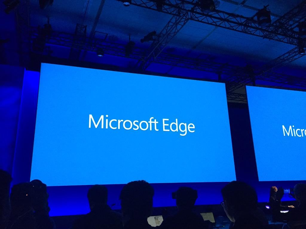 Microsoft Edge launch picture