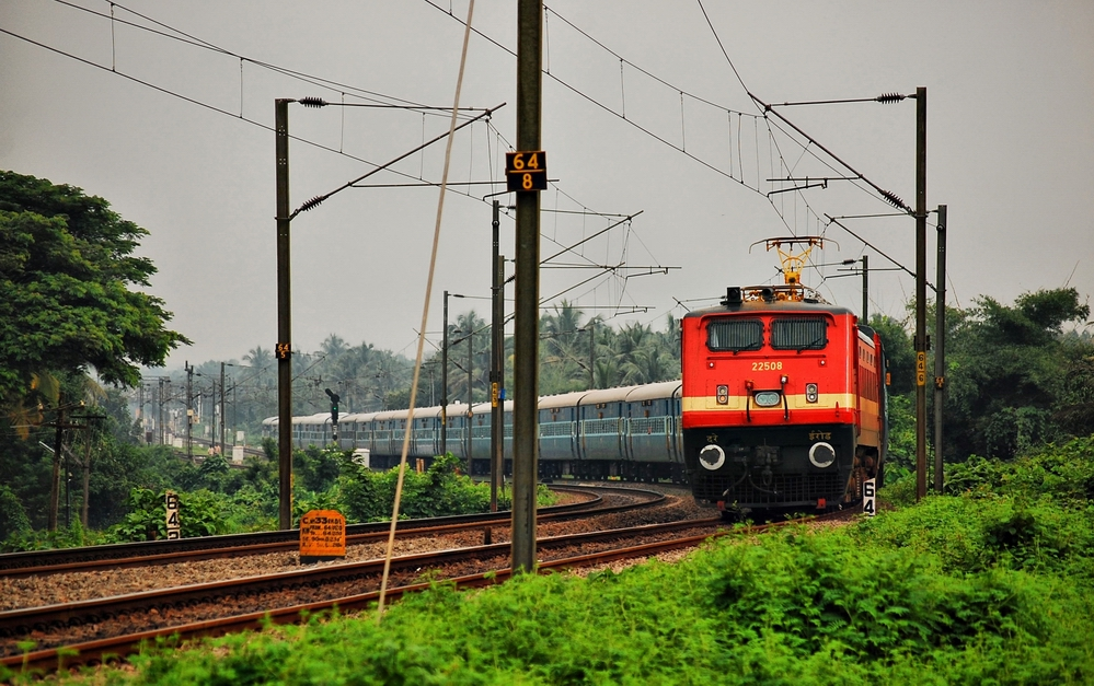 Photo of Indian train