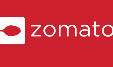 The official logo of Zomato