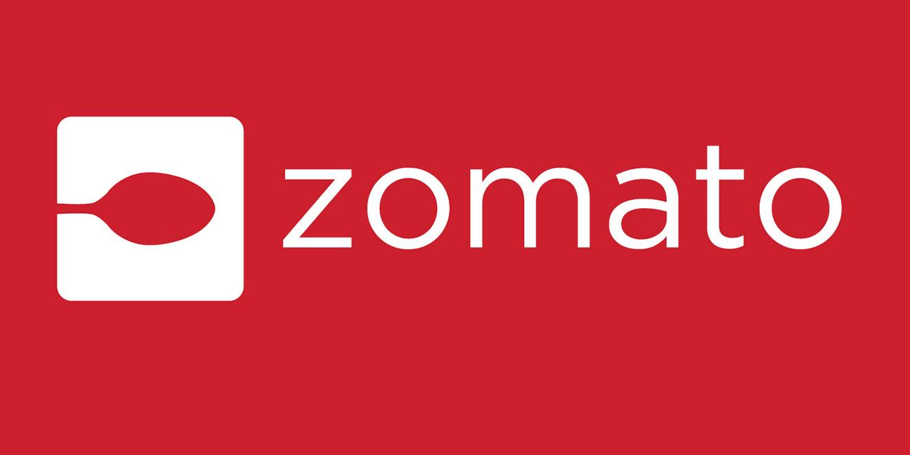 The official logo of Zomato