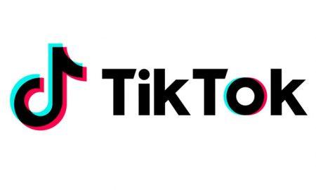 logo of video app TikTok