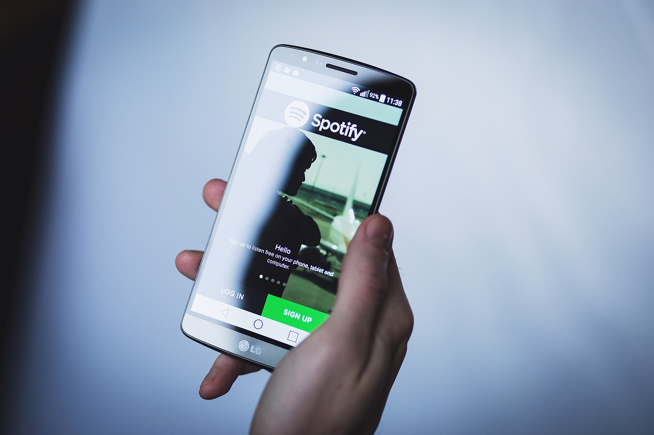 Spotify music streaming app