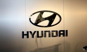 Official logo of Hyundai