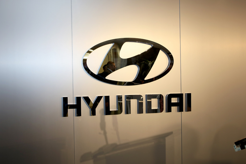 Official logo of Hyundai