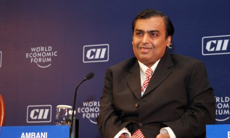 photo of India's richest man Mukesh Ambani