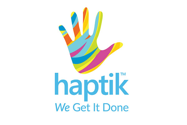 Official logo of Haptik Company..