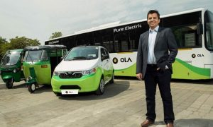 Bhavish Aggarwal - co-founder and CEO of Ola