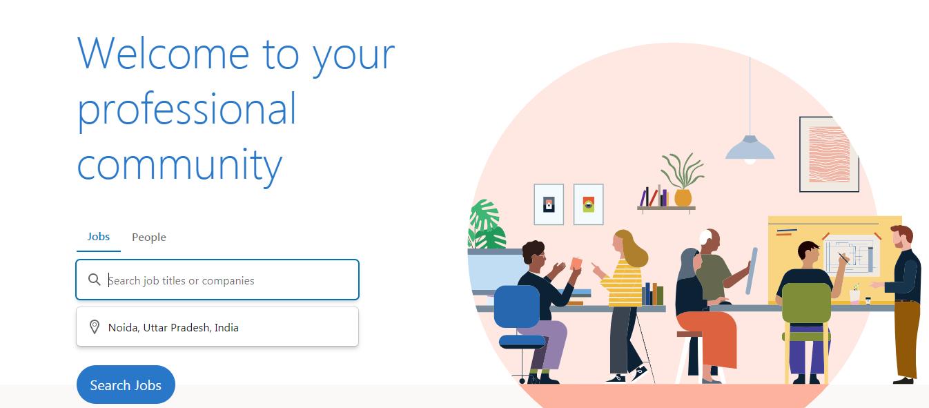 Linkedin- Online Personal Community