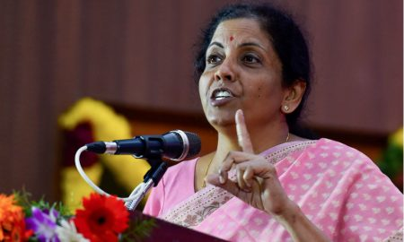 Photo of Finance Minister Nirmala Sitharaman