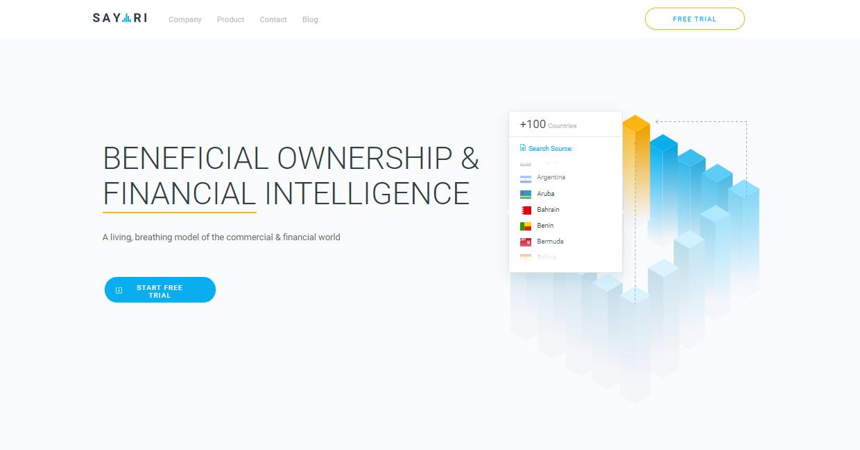 Sayari: A Perfect Financial Intelligence Data Platform