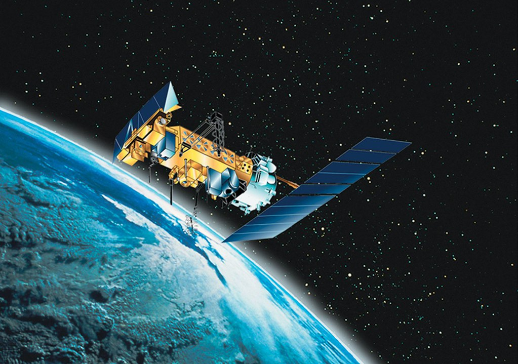 Satellite in space picture