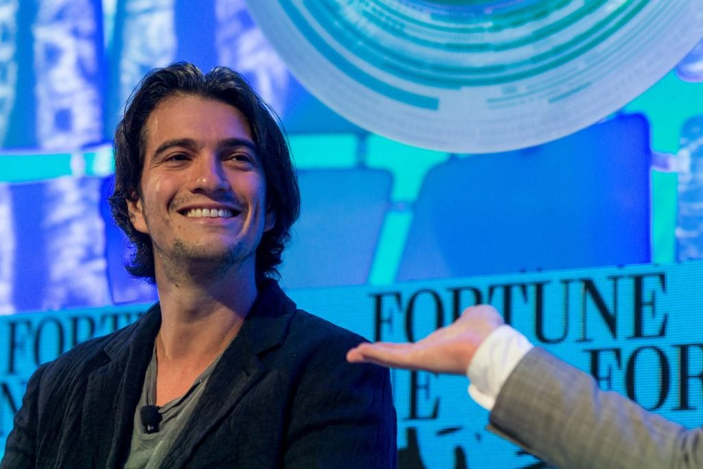 WeWork CEO Steps Down