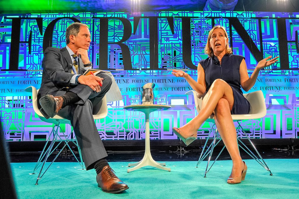 YouTube CEO Susan Wojcicki at Fortune Brainstorm Tech 2015