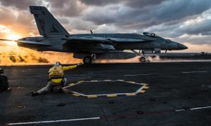 USS Ronald Reagan (CVN 76) flight ops