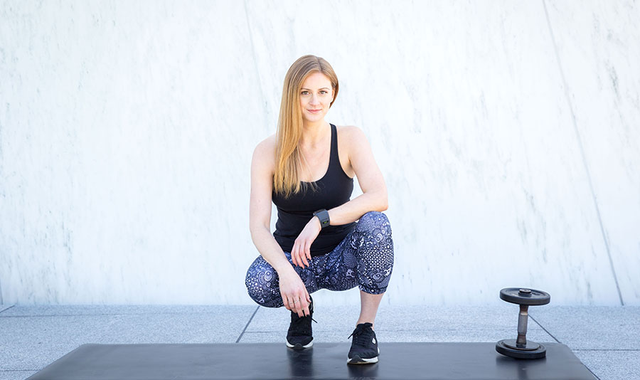 Photo of Stephanie, Founder of EPIC Fitness