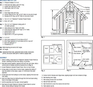 How To Woodworking Hexagon Free Free Deer Stand Plans Online