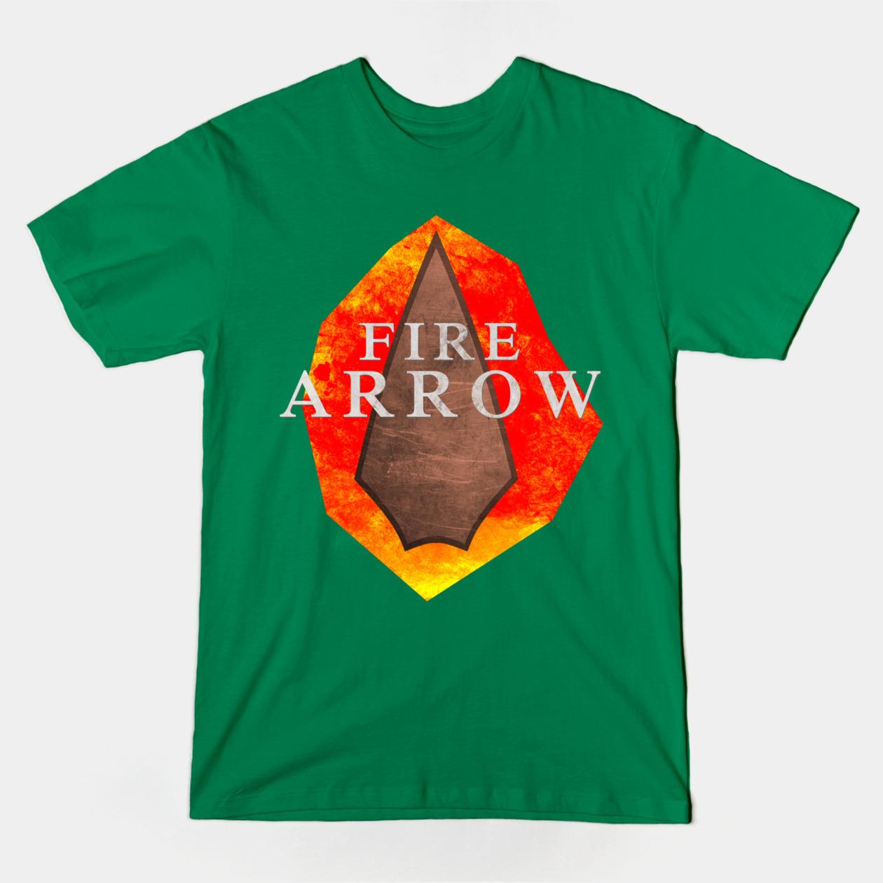 Fire Arrow Teepublic