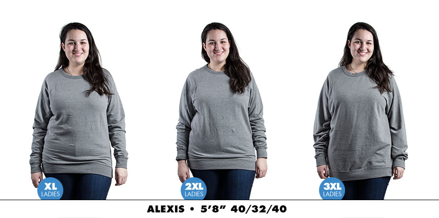 Crewneck female lightweight 1