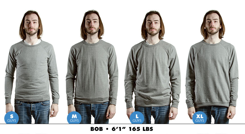 Crewneck male lightweight 2