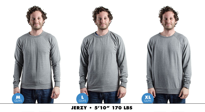 Crewneck male lightweight 5