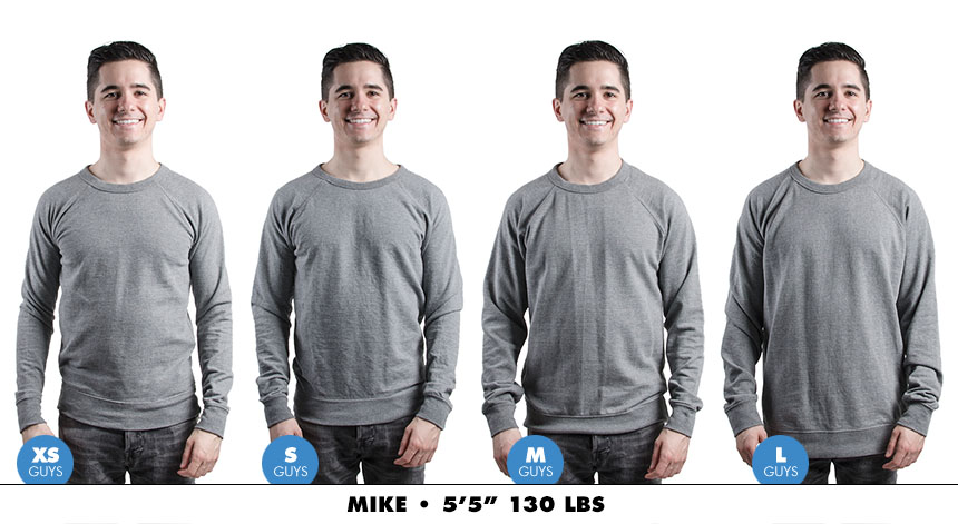 Crewneck male lightweight 6