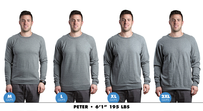 Crewneck male lightweight 7