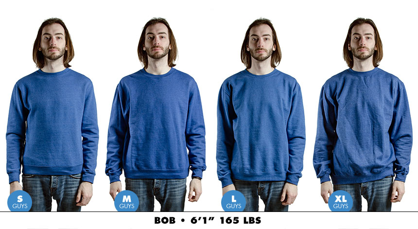 Crewneck male regular 2