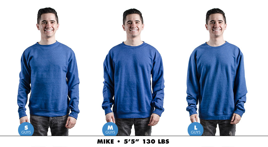 Crewneck male regular 5