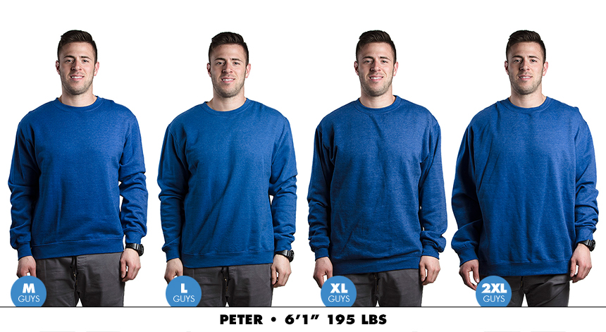 Crewneck male regular 6