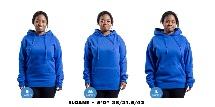 Hoodie female regular 3