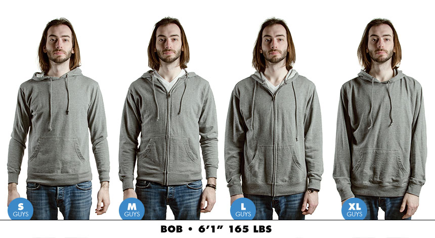 Hoodie male zip lightweight 2