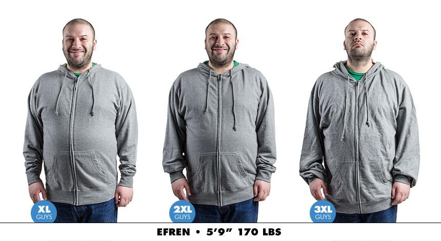Hoodie male zip lightweight 3