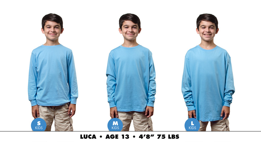 Kids long sleeve 2