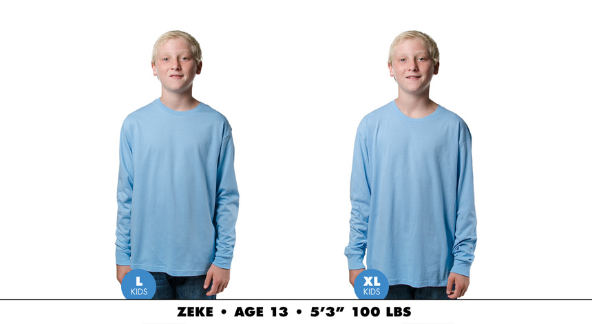Kids long sleeve 4