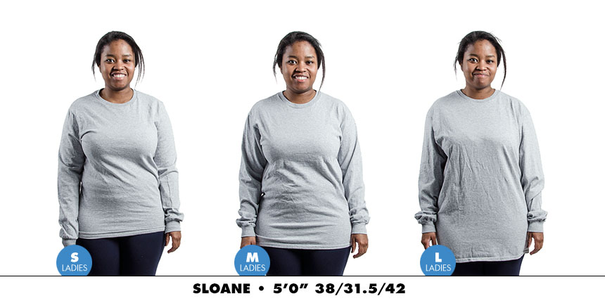 Longsleeve female regular