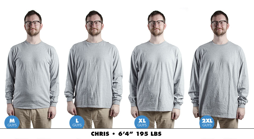 Longsleeve male regular 3