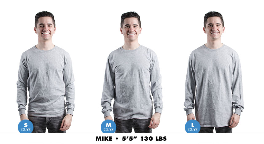 Longsleeve male regular 4