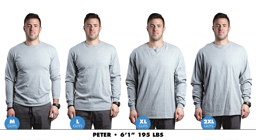 Longsleeve male regular 5
