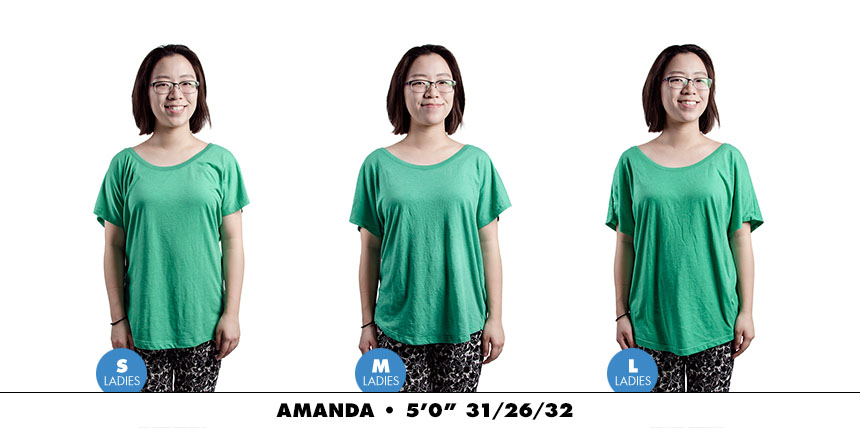 Tee female dolman 2