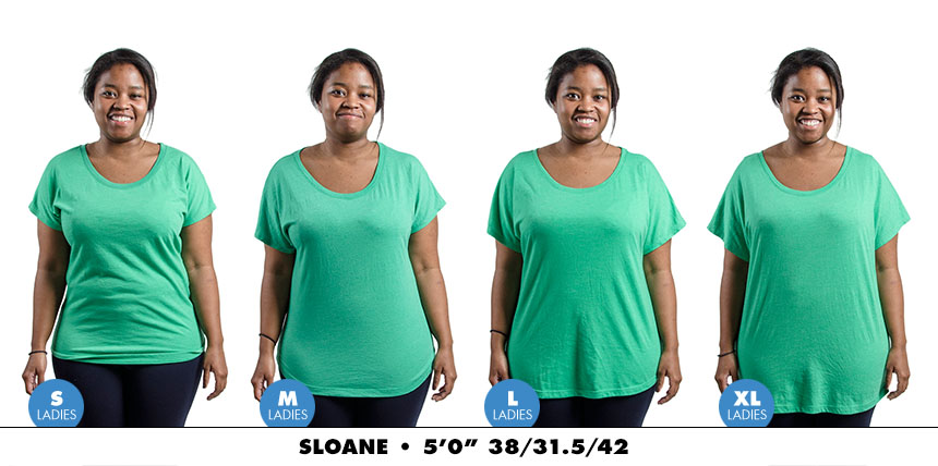 Tee female dolman 4