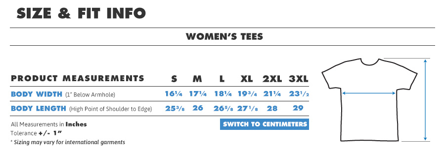 Tee female regular inches