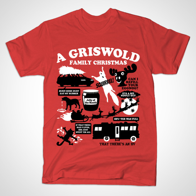 T Shirts A Griswold Family Christmas Teepublic