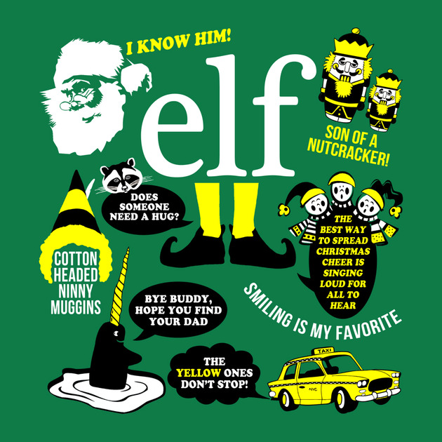 Elf Quotes Smiling: Quotes From Buddy The Elf. QuotesGram