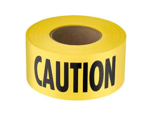 3 in x 1000 ft Caution Barrier Tape
