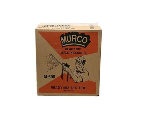 MURCO M600 Ready Mix Spray Texture - 50 lb Box